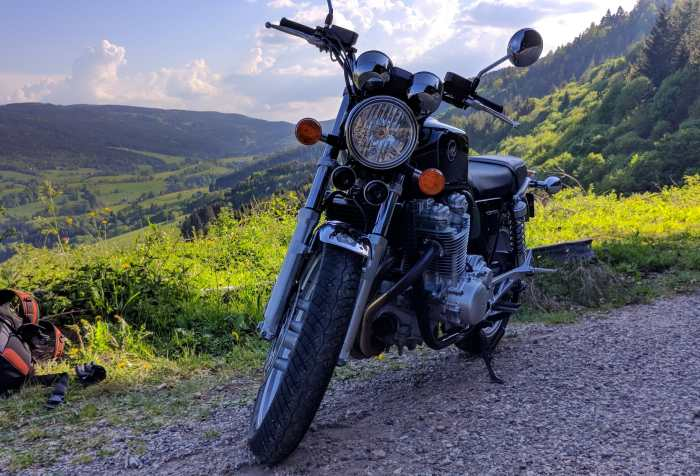 Photo du roadster néo-retro Honda CB1100