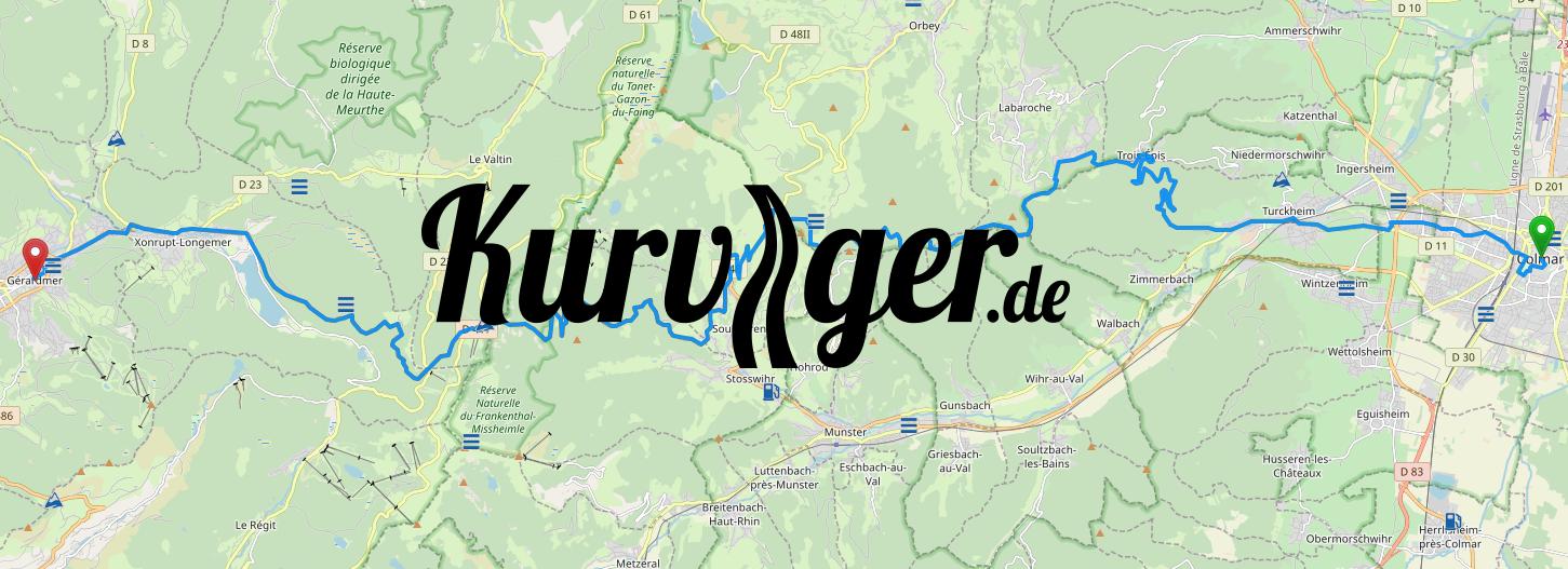 Photo presentation Kurviger gps moto