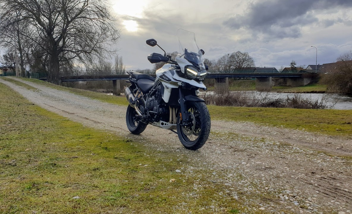 Photo du trail Triumph Tiger 1200 Explorer Face