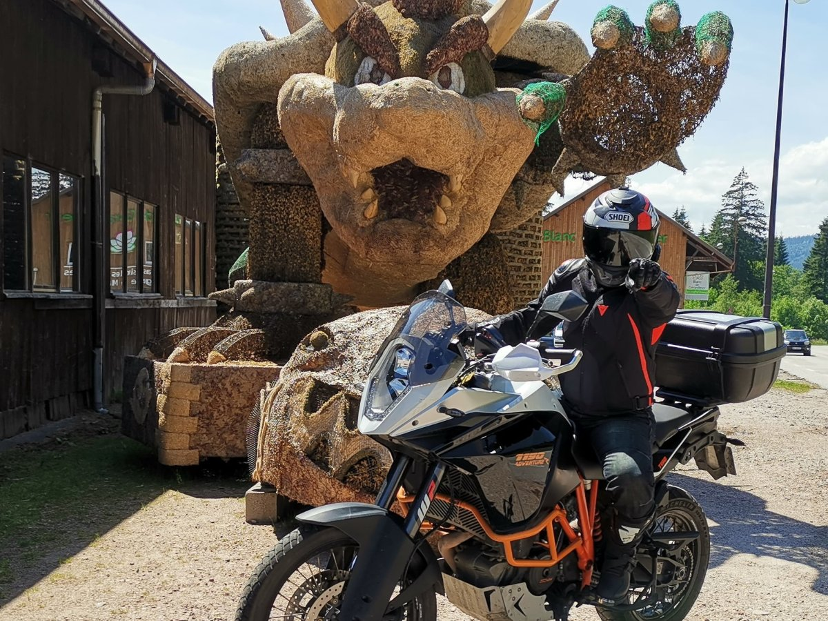 Photo du trail KTM Adventure 1190 R point des 6 mois