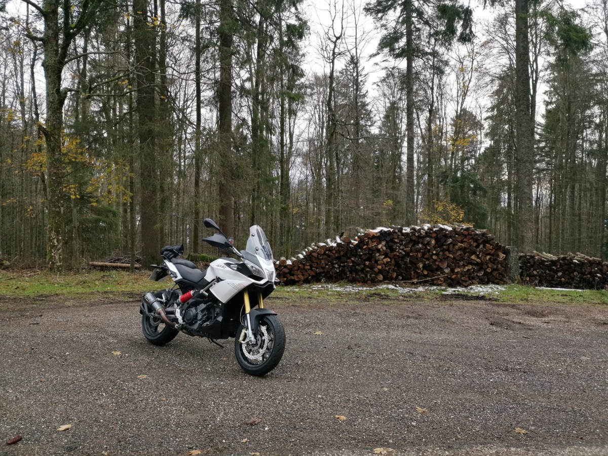 Photo du trail Aprilia Caponord 1200