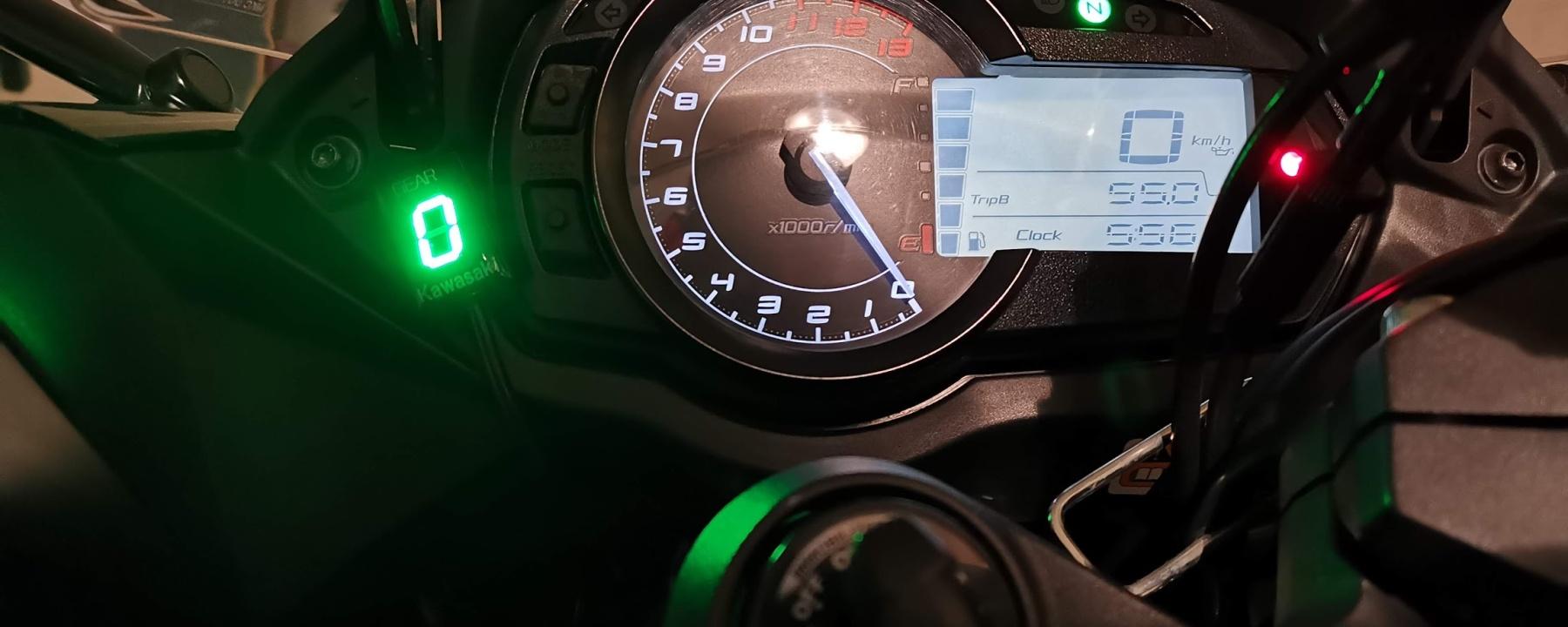 Photo de la Kawasaki Z1000 SX